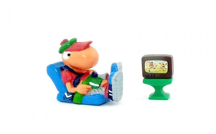 Bill Body als Sessel Libero mit Menschen TV in braun (Varianten)