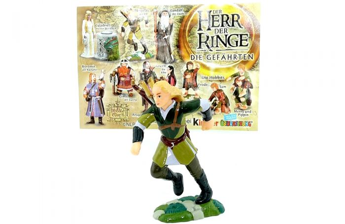 Legolas der Elb mit Beipackzettel (Herr der Ringe 1)