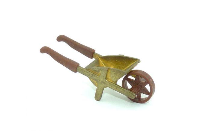 Schubkarre mit zwei Gummigriffen zum Abnehmen (Metall)