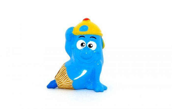 Stummel Stift in blau ohne BPZ (Schreibtischbande 2004)
