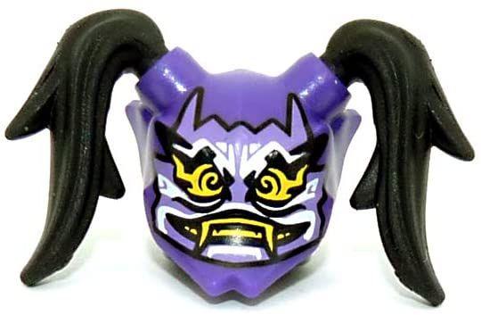 ninjago oni maske ausmalbild  coloring and drawing