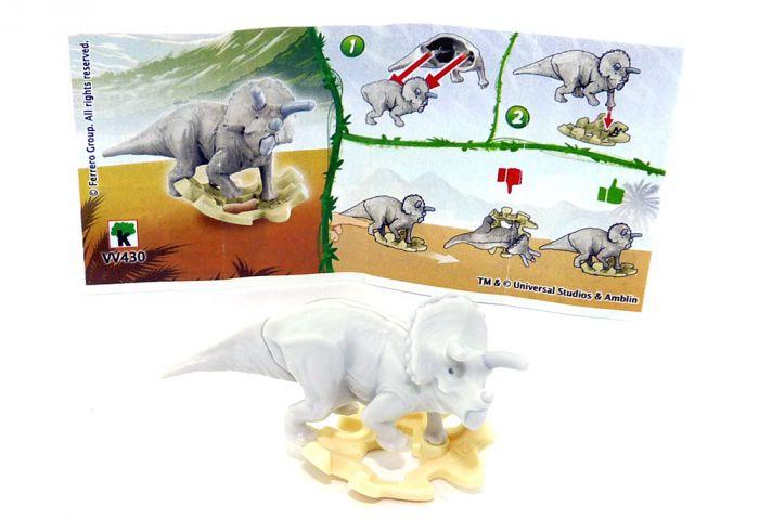 Triceratops aus der Serie Jurassic World mit der Kennung VV430