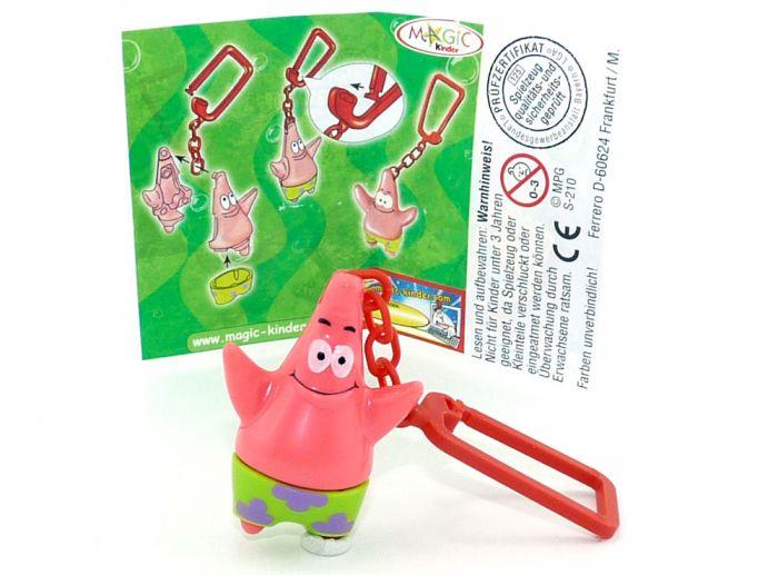 Schlüsselanhänger von Patrick mit Beipackzettel
