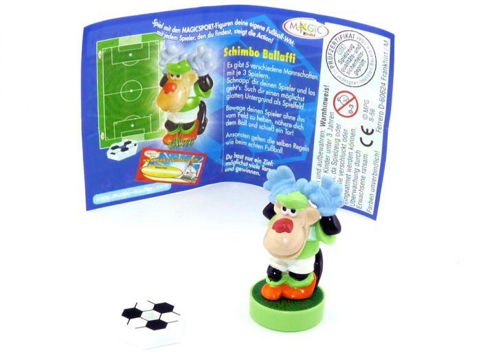 Schimbo Ballaffi mit Ball und deutschen Beipackzettel (Magic Sport)