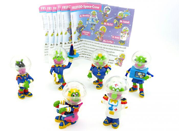 Frufoo Space Crew Figuren Set mit allen Zetteln [Firma Onken]
