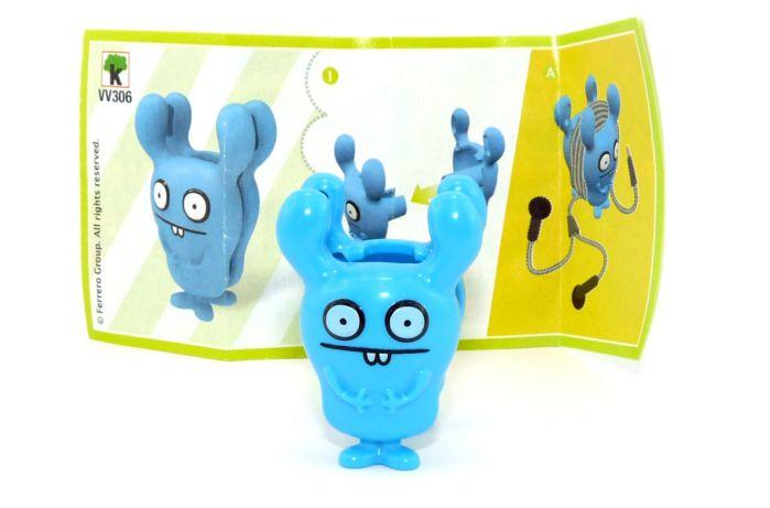 Ugly Dolls Figur VV306 aus dem Kinder Joy Ei 2021 mit Zettel