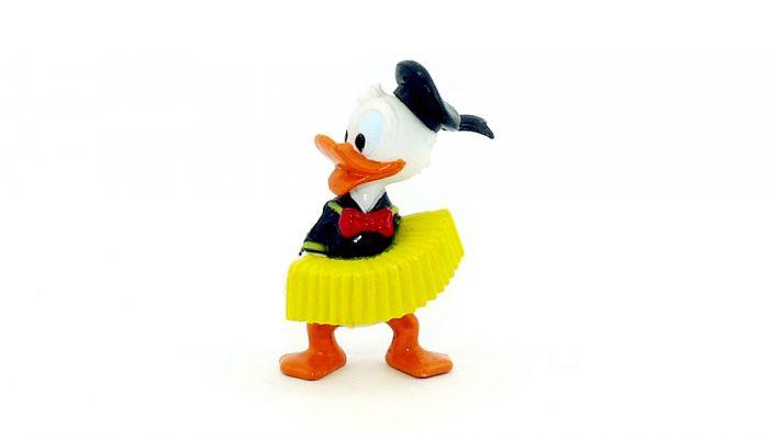 Donald mit Akkordeon und schwarze Mütze (Donalds flotte Familie)