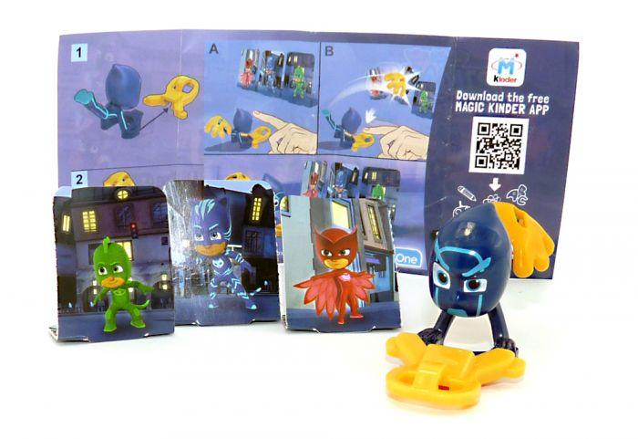 """NIGHT NINJA Figur von den """" PJ Masks"""" mit Beipackzettel DV439"""