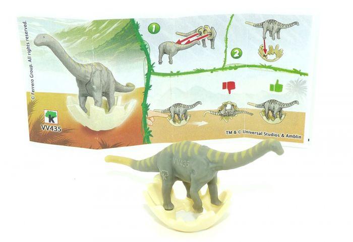 Apatosaurus aus der Serie Jurassic World mit der Kennung VV435