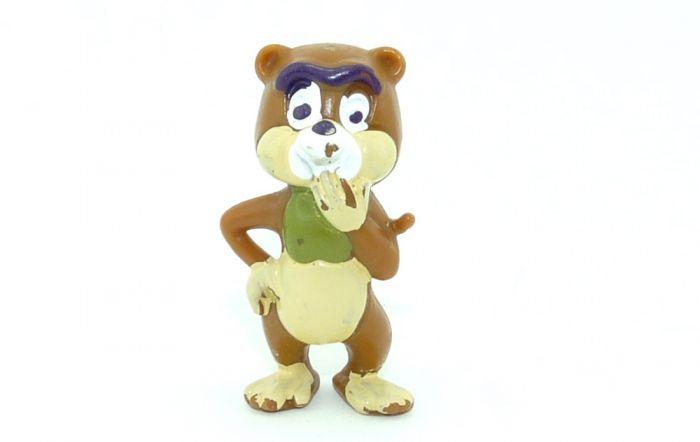 Affe Kiki steht in Vorserienbemalung von den Tao Tao (Ü-Ei Rarität)