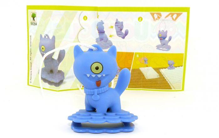 Ugly Dolls Figur VV284 aus dem Kinder Joy Ei 2021 mit Zettel