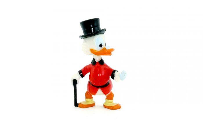 Dagobert Duck mit Zylinder (Donalds flotte Familie)