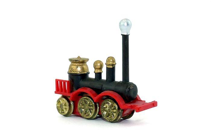 Ironside 1855 aus der Serie Historische Dampflokomotiven mit Metallrädern von 1980.