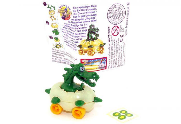 Dragox mit Fahrzeug vom Monster - Hotel