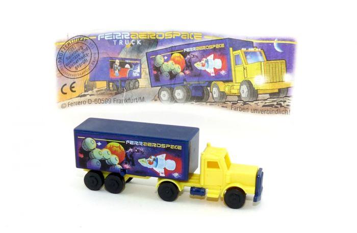 Truck Ferrerospace mit Beipackzettel