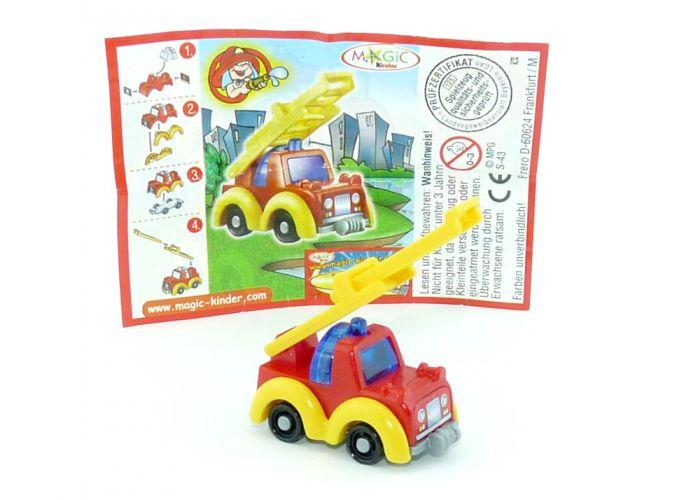 Feuerwehrauto mit Drehleiter (Babyfeuerwehr)