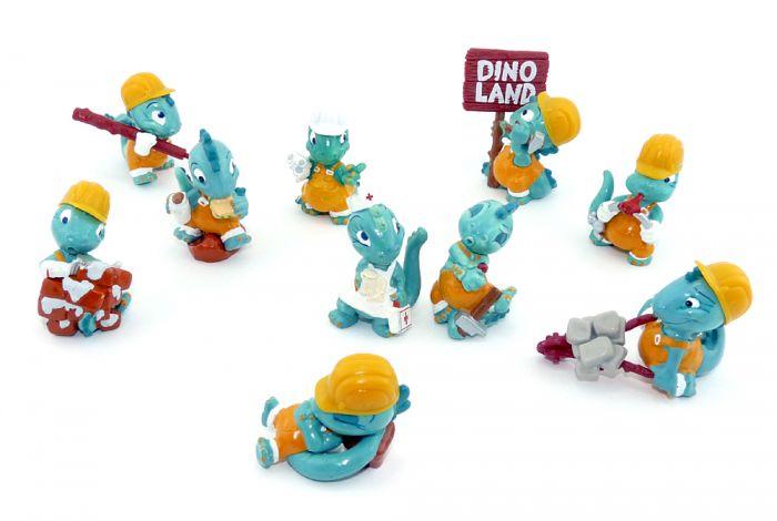 Dapsy Dinos Serie von 1995 als Bauarbeiter (Komplettsätze)