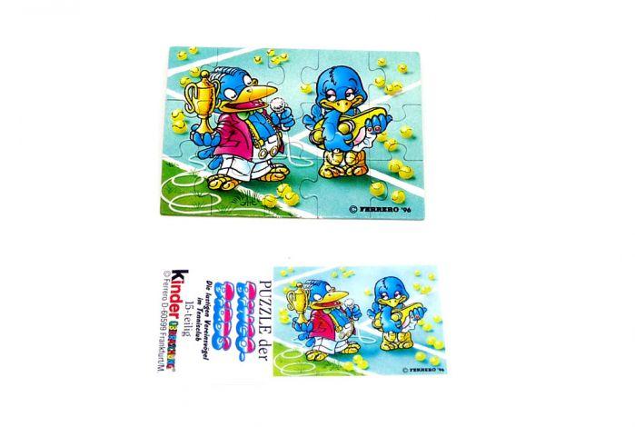 Bingo Birds Puzzleecke unten links (Puzzle)