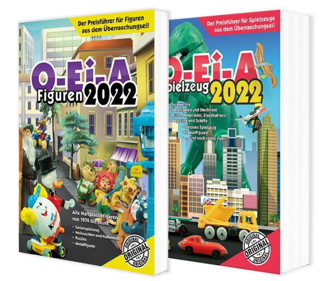 Das O-Ei-A 2er Bundle 2022 - O-Ei-A Figuren und O-Ei-A  Spielzeug im Doppel mit 4,00 € Preisvorteil