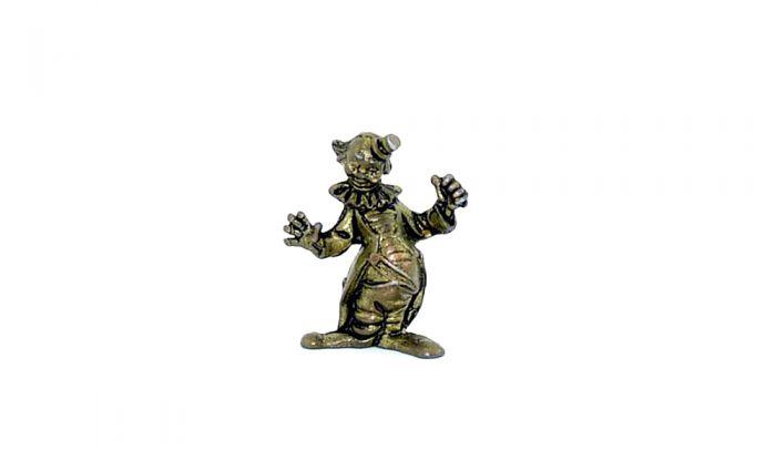 Clown Miniaturen, Pippo aus Messing (Metallfigur)