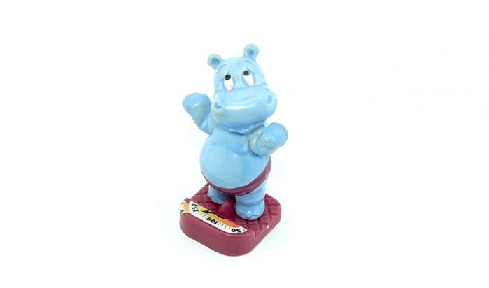 Happy Hippo auf Waage (Fitness-Fieber)
