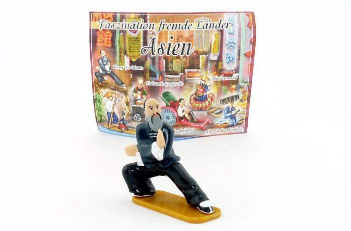 Kung Fu - Mann, Faszination fremder Länder Asien