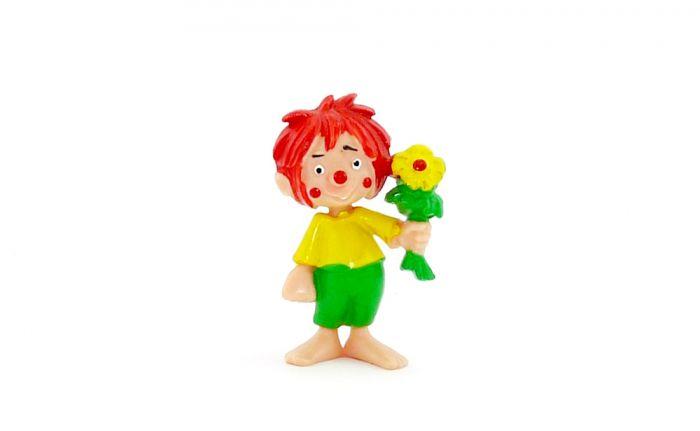 Pumuckl als Blumenfreund. Der kleine Kobold Pumuckel von 1985