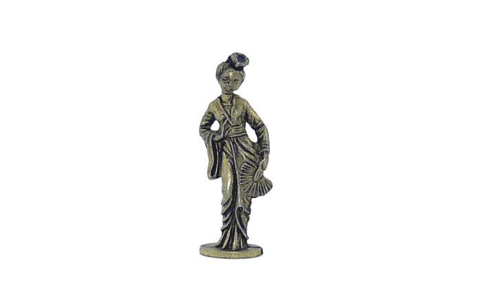 Zhang Shi aus den Satz Chinesischen Sagen. Messing 35mm (Metall) - Messing 35mm Geisha (Metall)