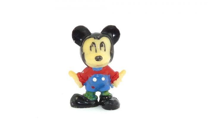 Micky Maus Figur wo der Rohling unbemalt ist  (Alte Ü-Ei Figuren)
