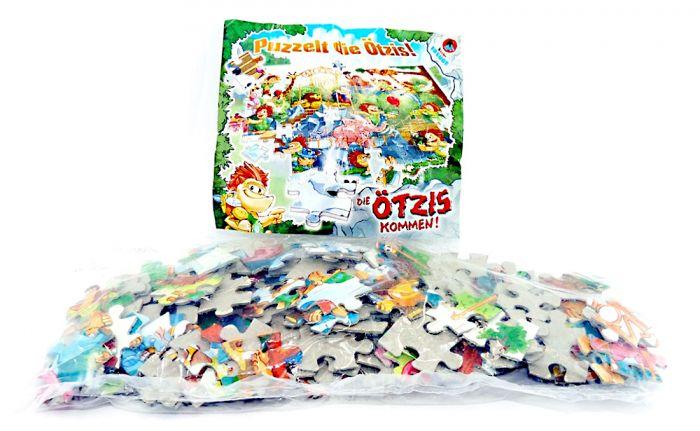 Maxi Ei Puzzle von den Ötzis mit Beipackzettel (150 Teile Puzzle)