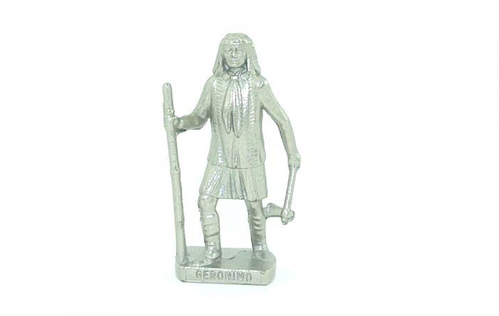 Häuptlinge. Geronimo in Chrom (Metallfiguren)
