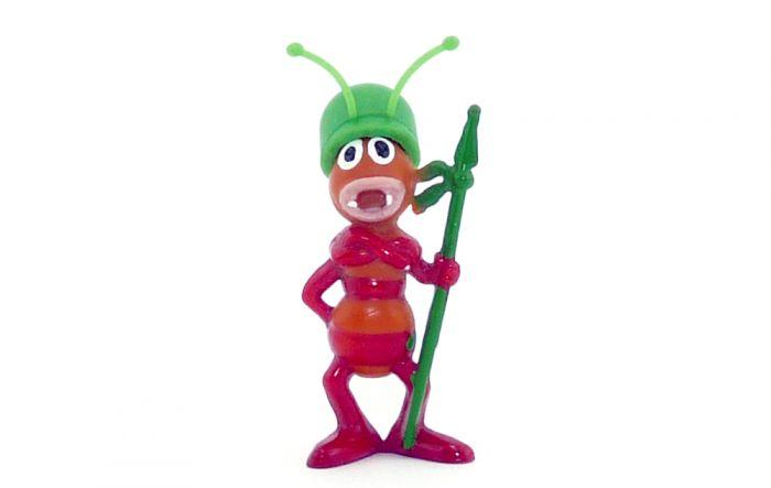 Oberst Emsig mit grünen Helm aus der Serie Die Biene Maja