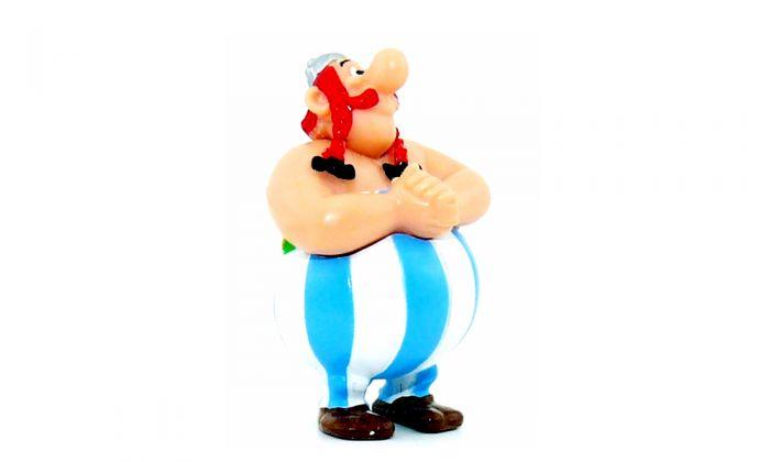 Obelix aus der Serie Asterix und die Römer aus dem Jahr 2000