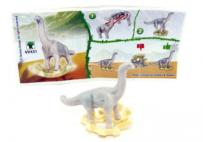 Brachiosaurus aus der Serie Jurassic World mit der Kennung VV431