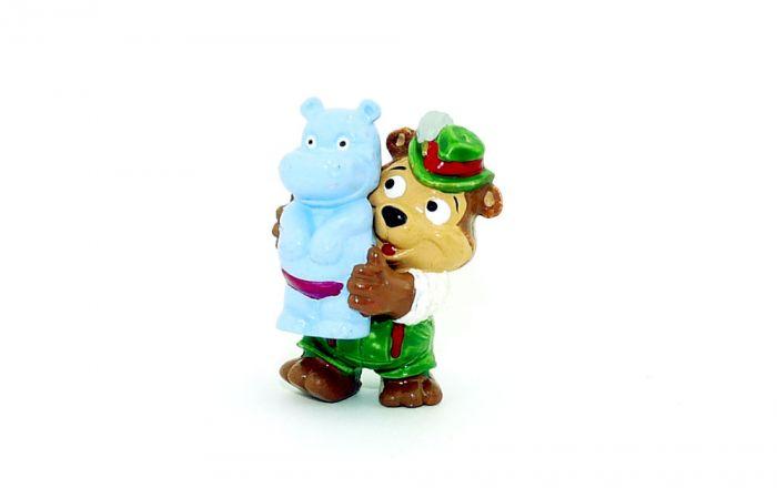 Gustl Glückspilz mit Hippo von den (T.T.T. Volksfeststimmung)