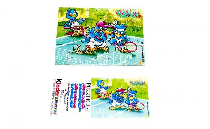 Bingo Birds Puzzleecke oben rechts (Puzzle)