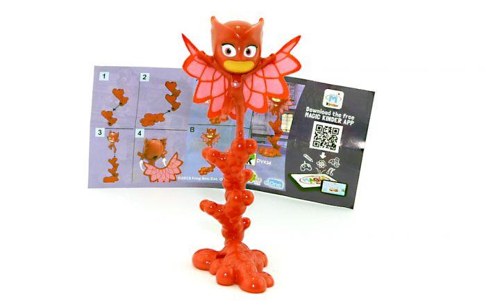 """OWLETTE Figur von den """" PJ Masks"""" mit Beipackzettel DV434"""