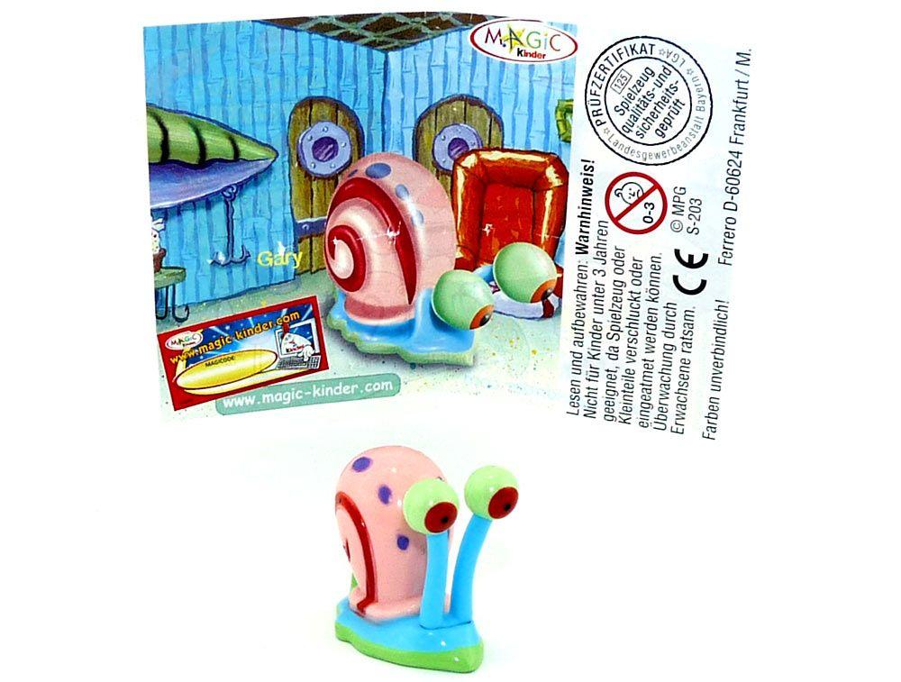 Sandy Variante Spongebob Deutschland Kompl.-Satz Spielzeuge alle BPZ