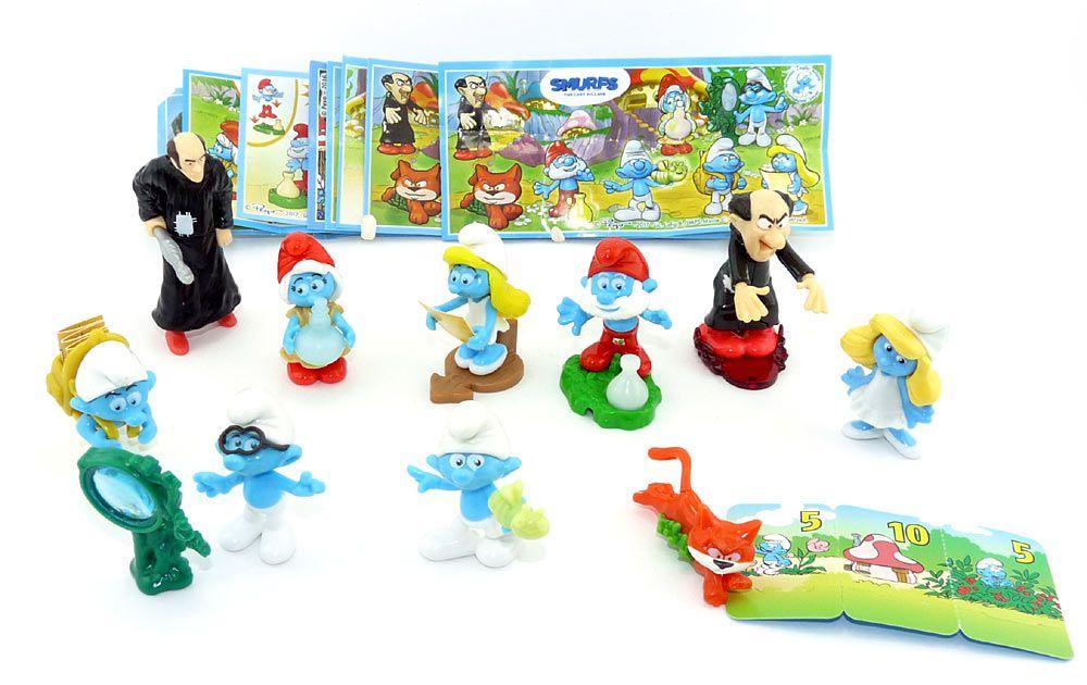 Kinder Überraschung Snoopy II Figurenstaz mit Allen Zetteln