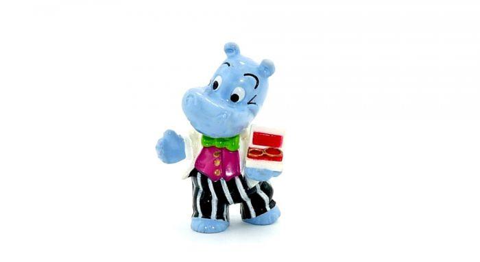 Happy Hippo, Bräutigam mit Ringe (H.H. Hochzeit)