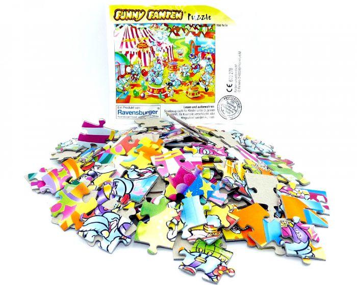 Maxi Ei Puzzle. Funny Fanten Manege von Ravensburger (150 Teile Puzzle)