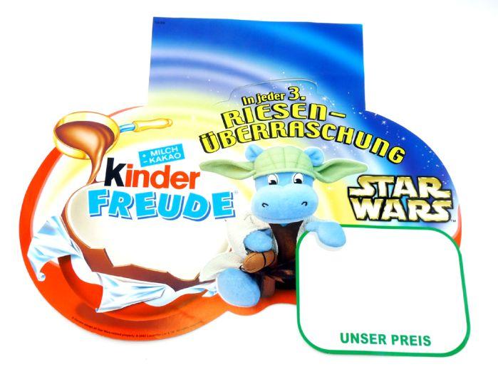 Palettenanhänger Kinder Freude mit Star wars