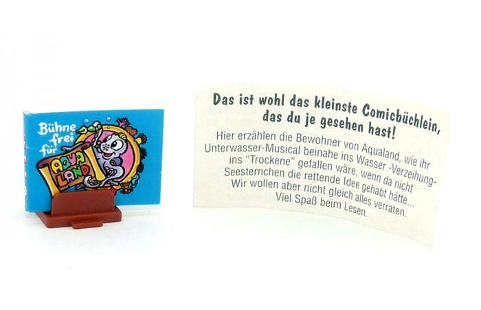 Aqualand mit Zettel und Ständer (Comic Büchlein)