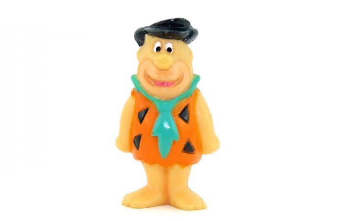 Fred Feuerstein als Hartplastik Figur. Höhe 4cm