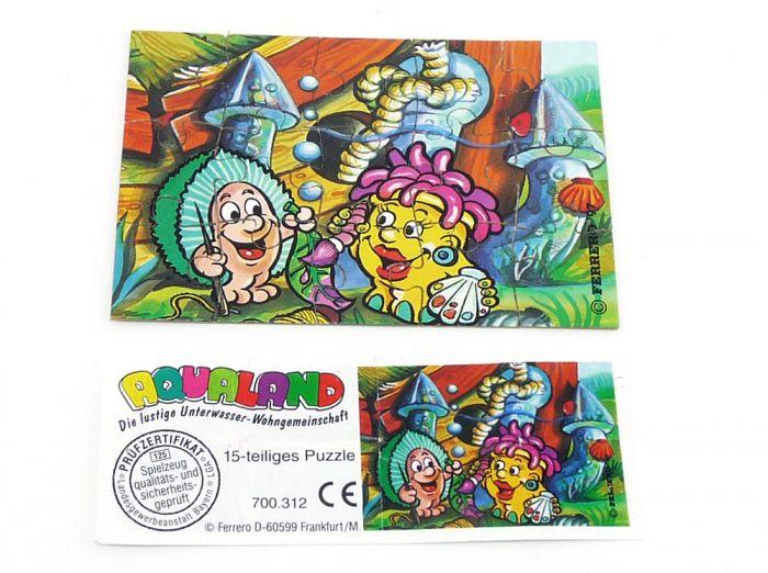 Aqualand Puzzleecke (unten rechts)