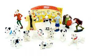 101 Dalmatiner von Walt Disney, 14 Figuren [Firma Nestle]