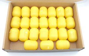24 gelbe Überraschungsei Kapseln (Ü-Eier Kapsel von Ferrero)