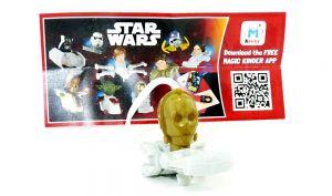 C3 PO von Star Wars mit Beipackzettel (FS326)