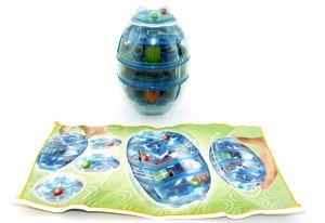 3 - D LABYRINTH aus dem Maxi Ei von Ferrero mit Beipackzettel
