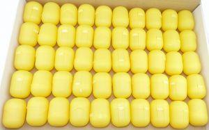 50 Ü-Ei Kapseln in gelb (Ü-Eier Kapsel von Ferrero)